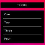 Smooth Slide Toggle In Vanilla JavaScript