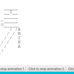 ASCII Animation Library In Pure JavaScript – AnimASCII