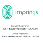 Device And Browser Fingerprint Generator – imprint.js