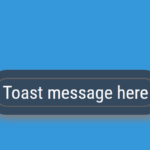 JavaScript Only Toast Notification Library – ToastMessages