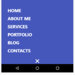 Mobile-first Morphing Navigation Menu With JavaScript And CSS3