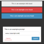 Pretty Non-blocking Dialog Popup JavaScript Plugin – Prompt-Boxes