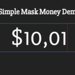 Money(Currency) Mask Library In Vanilla JavaScript – SimpleMaskMoney