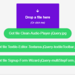 Awesome File Drop JavaScript Library – droppable
