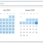 Tiny Customizable Date Range Picker – TinyPicker