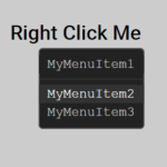 Add A Right-click Context Menu To Website – menu.js