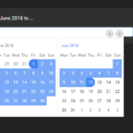 Flexible Date Range Picker With Moment.js – lightPick.js