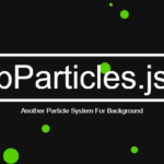 Subtle Particles Animation In Vanilla JavaScript – bParticles.js