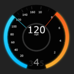 Tesla Style Speedometer In JavaScript – teslahud.js