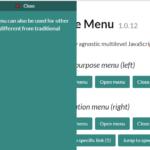 Multi-level Sliding Side Menu In Vanilla JavaScript – Slide Menu