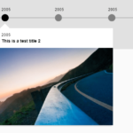 Responsive Interactive Timeline In Vanilla JavaScript – Simple Timeline