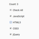 Select All Checkboxes In JavaScript – check-all.js