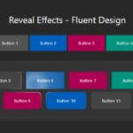 Fluent Design Button Hover & Click Effects – fluent-reveal-effect