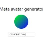 Gradient Avatar Generator – gradient-avatar