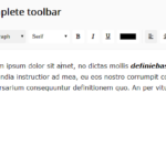 Minimal Rich Text Editor In Pure JS – tiny-editor