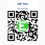 QR Code Generator With Logo And Title Support – EasyQRCodeJS