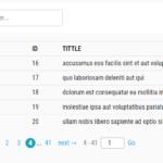 Simple Table Paginator In Pure JavaScript - Paginator js | CSS Script