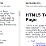 Clean CSS Reset Library – destyle.css