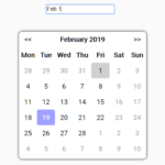 Simple Datepicker Calendar In Vanilla JavaScript – Datepicker.js
