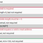 Minimal HTML5 Form Validator In Vanilla JavaScript – Pristine