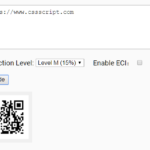 Decoding/Encoding QR Code With Pure JavaScript