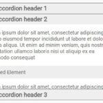 Small Fast Accordion Plugin In Pure JavaScript – CFAccordion