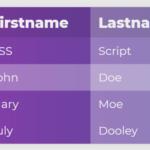 Dynamic Table Generator In JavaScript – Table.js