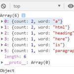 Word Density Counter In Vanilla JavaScript – density.js