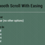 Smooth Scroll With Easing Functions – smooth-scroll