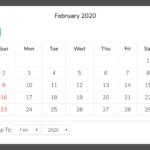 Basic Calendar View In Pure JavaScript – calendar.js