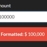 Easy Currency Formatter In Vanilla JS – pretty-money