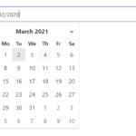 Vanilla JavaScript Date & Date Range Picker For The Web