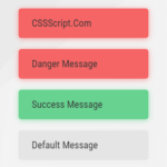 Flash (Toast) Messages In JavaScript – notify.js
