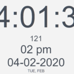 Feature-rich Countdown/Clock/Timer In Vanilla JavaScript – W3FClockTimer