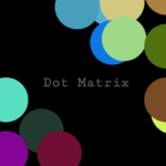 Interactive Dot Matrix In JavaScript And SVG – DotMatrx.js