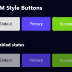 Sass Mixin For BEM-style Buttons – buttono