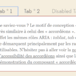 WAI-ARIA Tabs & Accordion Plugin In JavaScript – tablist