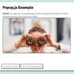 Create Modal Windows With Any Content – popop.js