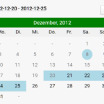 Tiny Event Calendar & Date Picker In JavaScript –  TavoCalendar