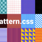 12 Pure CSS Patterns For Backgrounds – pattern.css