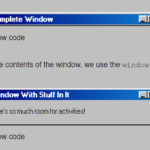 Windows 98 CSS Framework – 98.css