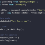 Cross-browser Code Editor For Browser – codejar