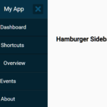 Hamburger Sidebar Navigation In Pure CSS – Sidebar-Menu