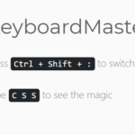 Bind Keyboard Shortcuts To Any Elements – KeyboardMaster