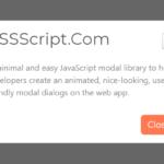 User-friendly Modal Dialog In Vanilla JavaScript – minimal-modal