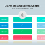 Beautiful Upload Buttons For Bulma Framework