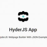 Build UI Components From JSON – HyderJS