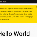 CSS Framework With Almost No Classes – no.css