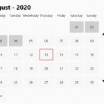 Modern Calendar Date Picker In Vanilla JavaScript