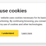 Stylish Multilingual Cookie Consent Popup In Vanilla JavaScript